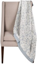 DownTown Kasey Abstract Floral Cotton Throw Blanket