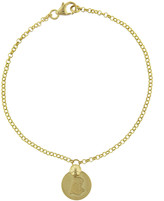 Foundrae Tiger Coin Bracelet - Yellow Gold