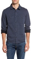 Grayers Men's Bayswater Modern Fit Heathered Shirt Jacket