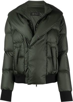 Mr & Mrs Italy Shawl-Collar Padded Jacket