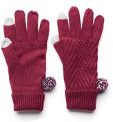 Keds Women's Cable-Knit Gloves
