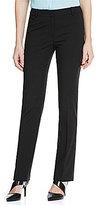 Calvin Klein Petite Lux Stretch Slim-Leg Pants