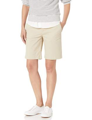 """Tommy Hilfiger Women's Hollywood 9"""" Chino Short-Solid"""