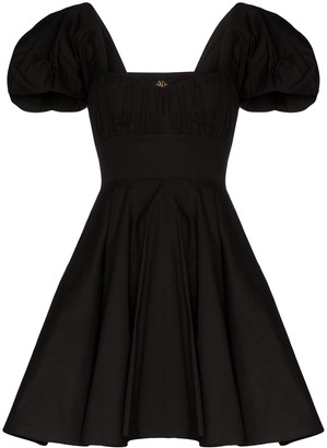 De La Vali Dolores puff sleeve dress