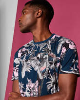 Ted Baker Placement print cotton Tshirt