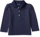 Ralph Lauren Polka-Dot Cotton Polo Shirt