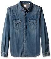 AG Adriano Goldschmied Men's Ethan Long Sleeve Denim Shirt