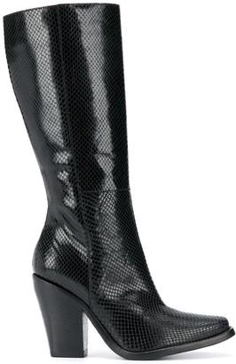 Philosophy di Lorenzo Serafini Pointed Knee-Length Boots
