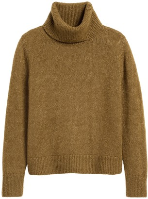 Banana Republic Merino-Blend Boxy Turtleneck Sweater