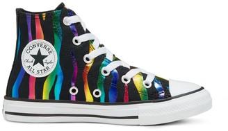 Converse Kids' Chuck Taylor All Star Zebra High Top Shoes