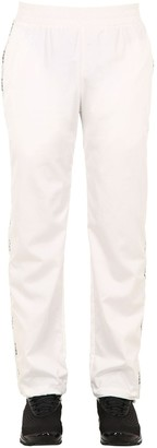 C2H4 Workwear Logo Side Band Track Pants