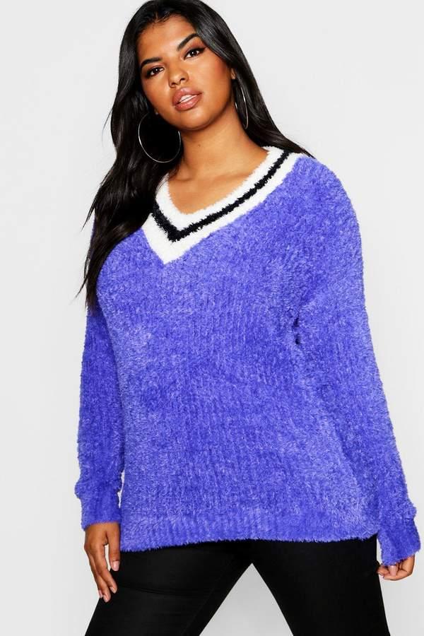 61506c948524 Plus Size Oversized Sweaters - ShopStyle Australia