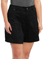 Style And Co. Plus Mid-Rise Woven Shorts