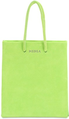 Medea Short Suede Bag
