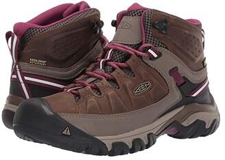 Keen Targhee III Mid Waterproof (Weiss/Boysenberry) Women's Shoes