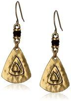 The Sak Triangle Drop Earrings