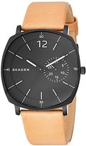 Skagen Men's SKW6257 Rungsted Light Brown Leather Watch