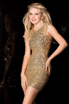 Scala 48484 Dress In Gold