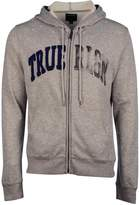 True Religion Zip-Through Logo Hoodie