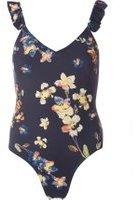Dorothy Perkins Womens *Vero Moda Frill Swimsuit- Multi Colour