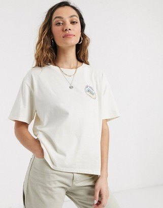 Dickies logo t-shirt with back print