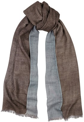 AMA Pure Brown Wool Scarf