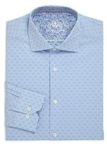 Bugatchi Dotted Check Dress Shirt