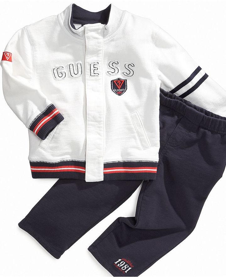 GUESS Baby Set, Baby Boys Jacket and Pants