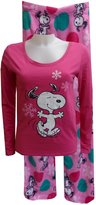 Peanuts Snoopy Junior Cut Plush Pajama for women
