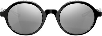 Giorgio Armani Mirrored Lense Sunglasses