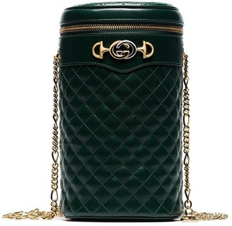 Gucci Cylindrical Quilted Belt Bag