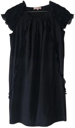 Dice Kayek Navy Cotton Dresses