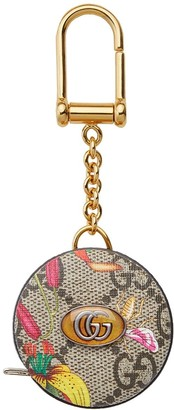 Gucci GG Blooms tape measure keyring