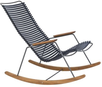 Ecc Lighting & Furniture Click Outdoor Rocking Chair Dark Navy
