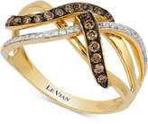 LeVian Le Vian Gladiator® Diamond Knot Ring (1/3 ct. t.w.) in 14k Gold