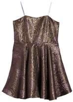 Un Deux Trois Jacquard Dress