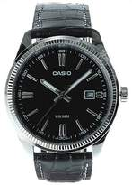Casio Men's Core MTP1302L-1AV Leather Quartz Watch with Dial
