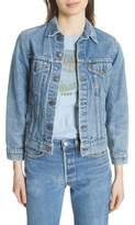 Elizabeth and James Abby Vintage Denim Jacket