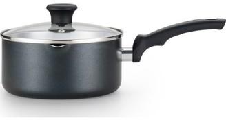 T-Fal Comfort 3 Quart Non-Stick Dishwasher Safe Black Saucepan