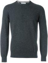 Brunello Cucinelli crew neck jumper - men - Silk/Cashmere/Virgin Wool - 48