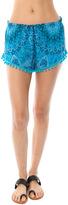 SALE Chaser Printed Pom Pom Shorts