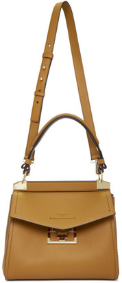 Givenchy Tan Small Mystic Top Handle Bag