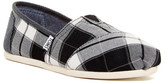 Toms Classic - Plaid Slip-On Shoe