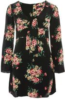 TFNC **Esme Floral Print Shift Dress