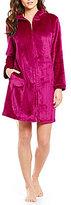 Miss Elaine French Fleece Zip Robe