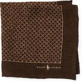 Polo Ralph Lauren Neat Linen Pocket Square