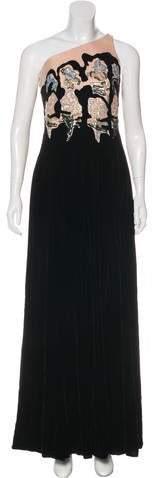 570adf29381 Armani Velvet Dress - ShopStyle