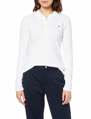 Tommy Hilfiger Women's Heritage Long Sleeve Slim Polo Shirt