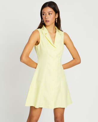 Missguided Sleeveless Blazer Dress