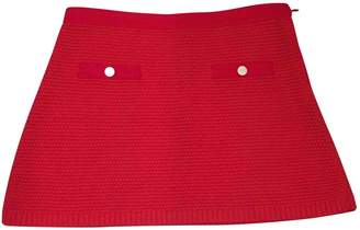 Paul & Joe Sister \N Red Cotton Skirt for Women